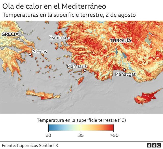 Incendios forestales en el mundo. Alimentados por el cambio climático como los de Grecia activan alertas... _1197910