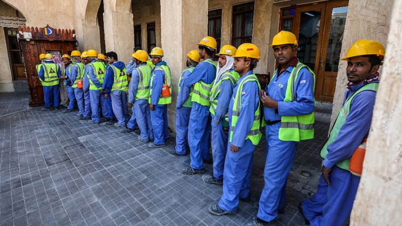 """Kafala, el sistema de empleo por patrocinio mediante el que """"esclavizan"""" trabajadores. _1203810"""