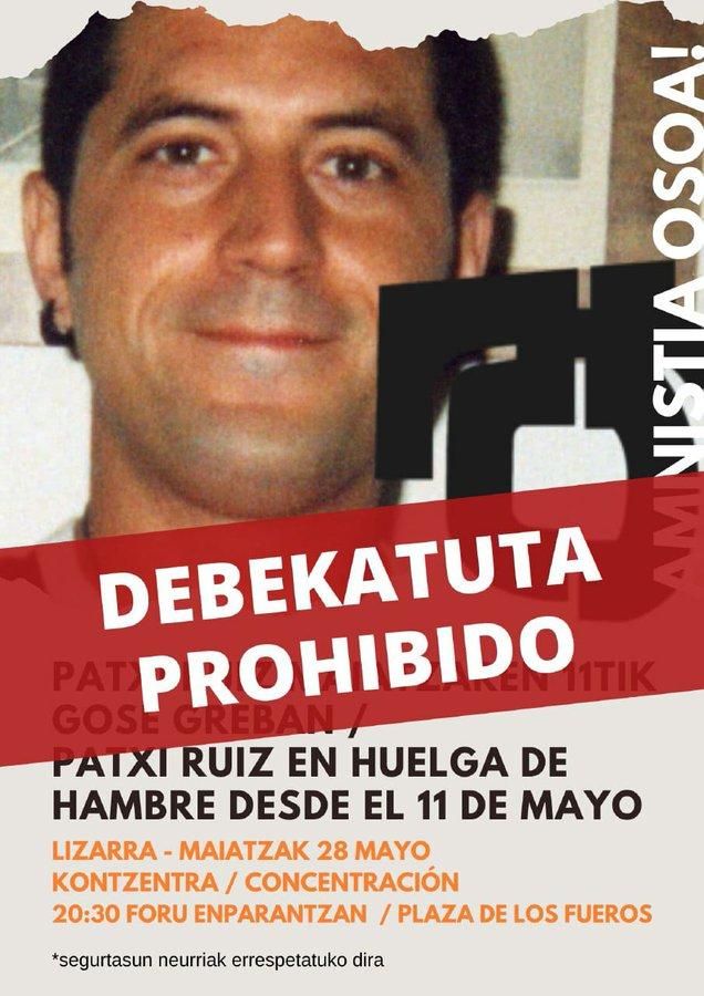 """Euskal Herria: Una multitud exige """"respeto a los derechos"""" de presos y exiliados. [vídeo] - Página 4 Debeku10"""
