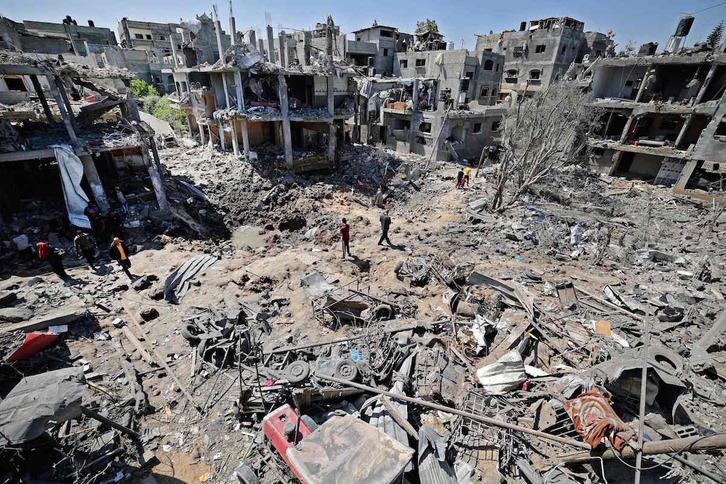 Palestina: Violencia ejercida por Israel en la ocupación. Respuestas y acciones militares palestinas. - Página 23 Gaza10