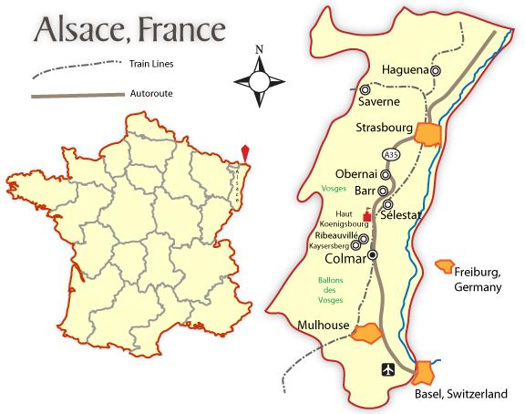 Colectividad Europea de Alsacia. Mapa_d10