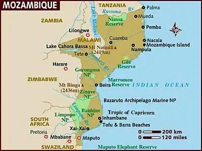 Mozambique: Cabo Delgado, las mayores reservas de gas descubiertas al sur del Sáhara. Yihad... Mozamb10