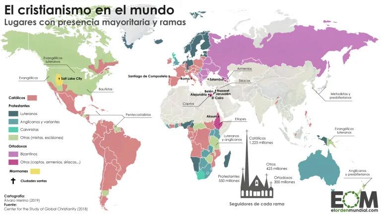 Religiones: 1.100 millones de descreíd@s, ate@s... Mundo-10