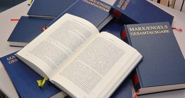 El proyecto MEGA. Peripecias de la edición crítica de las obras de Marx y Engels. (Pedro Ribas) Ob8g-y10