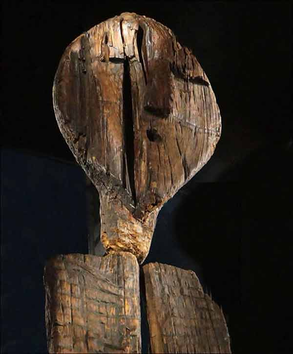 El ídolo de Shigir de los Urales. La escultura de madera más antigua. [Historia] Shigir10