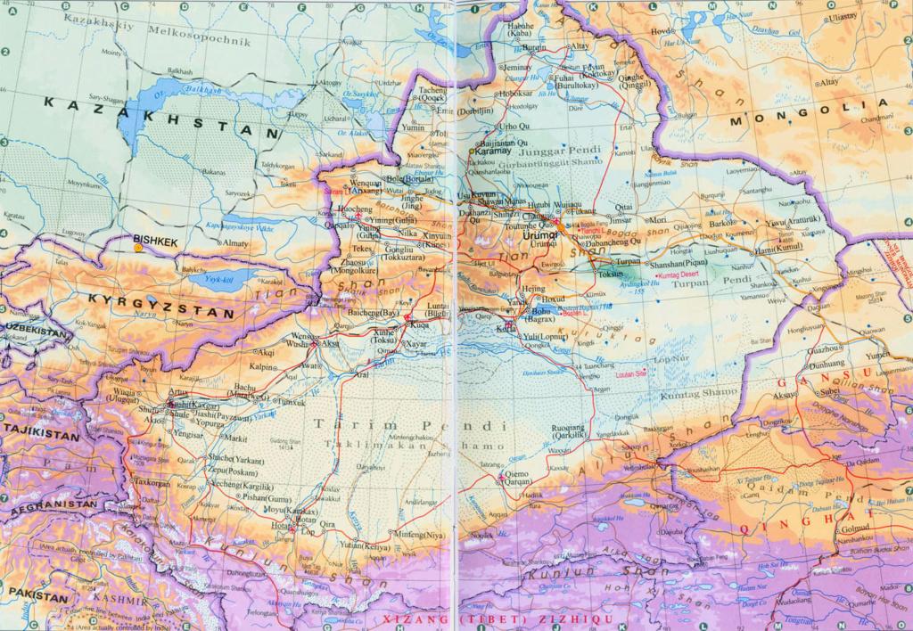 """Xinjiang [Turquestán oriental] en """"La China de Xi Jinping"""" de Xulio Ríos. Xinjia12"""