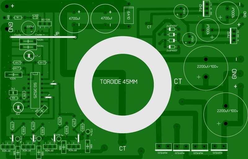 Inverssor para Amplificador Inv_tr10