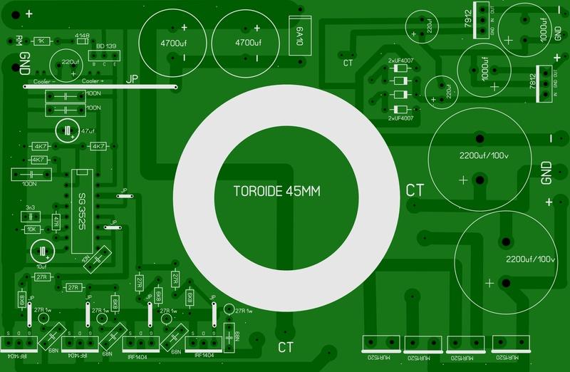 Inverssor para Amplificador Inv_tr11
