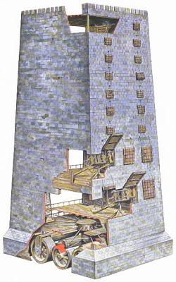 Los feudos de carpinteros: Armas de asedio. Helepo10