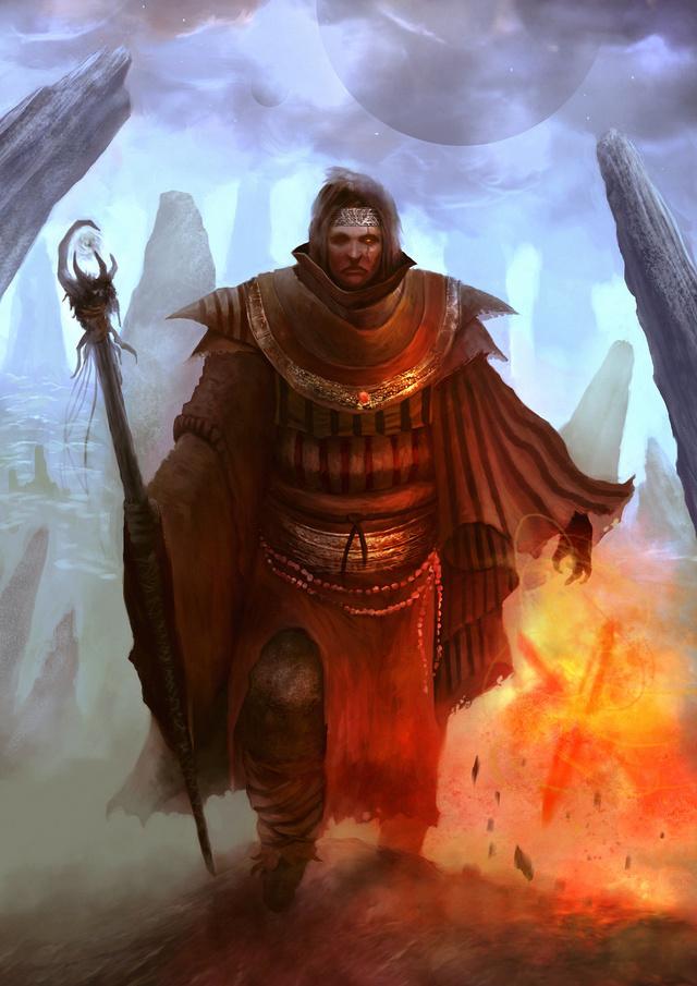 El culto a los dioses del fuego. Pyroma10