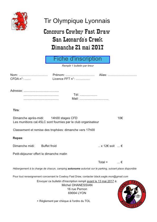 Concours CAS à San Leonardo's Creek (TOL) Inscri12