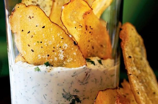 طريقة عمل رقائق البطاطس المخبوزة Crispy10