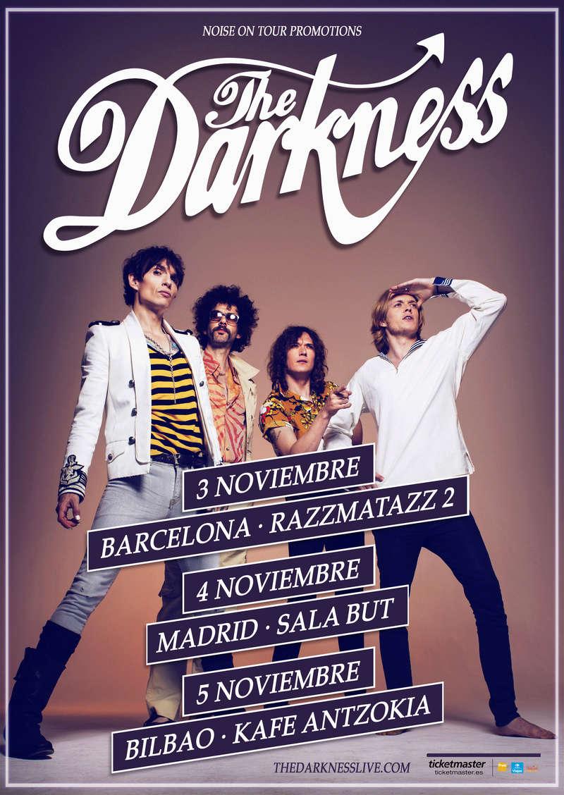 THE DARKNESS - Disco nuevo y gira para enero/febrero 2020 Darkne10