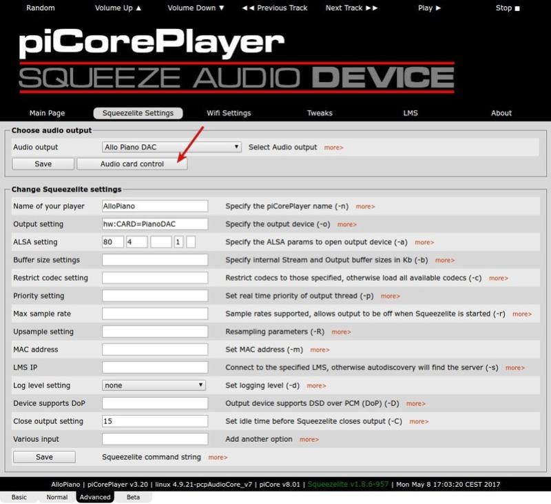 Raspberry Pi + DAC Allo Piano + Reclocker. - Página 4 Selecc17