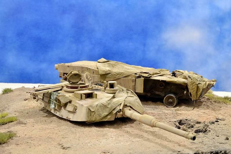 М1А2 Abrams…  БАШНЮ СНЕСЛО… 00115