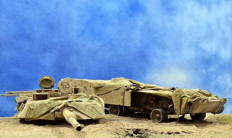 М1А2 Abrams…  БАШНЮ СНЕСЛО… 00216
