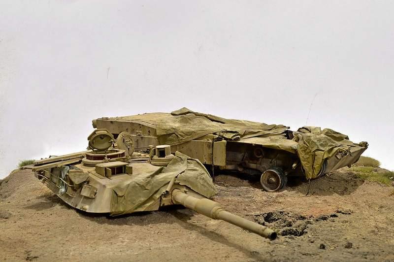М1А2 Abrams…  БАШНЮ СНЕСЛО… 00316