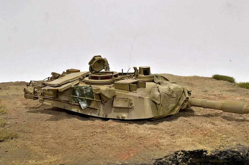 М1А2 Abrams…  БАШНЮ СНЕСЛО… 00516