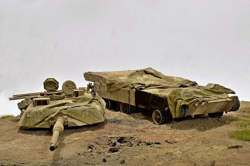 М1А2 Abrams…  БАШНЮ СНЕСЛО… 00716
