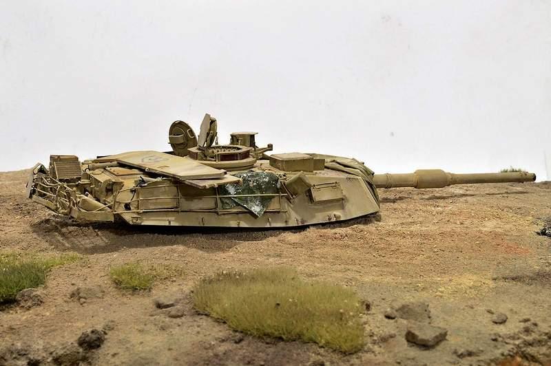 М1А2 Abrams…  БАШНЮ СНЕСЛО… 00816