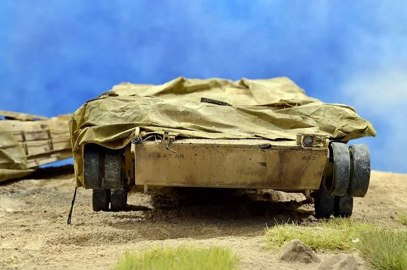 М1А2 Abrams…  БАШНЮ СНЕСЛО… 00918