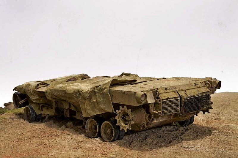 М1А2 Abrams…  БАШНЮ СНЕСЛО… 01017