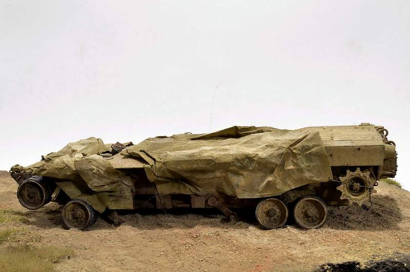 М1А2 Abrams…  БАШНЮ СНЕСЛО… 01117