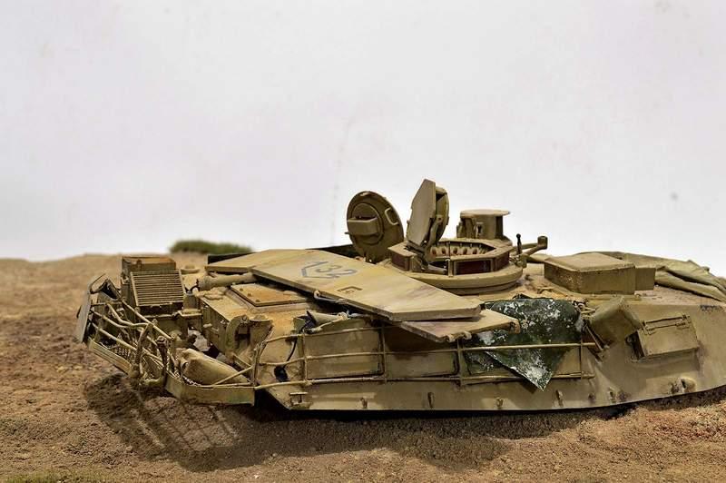 М1А2 Abrams…  БАШНЮ СНЕСЛО… 01317