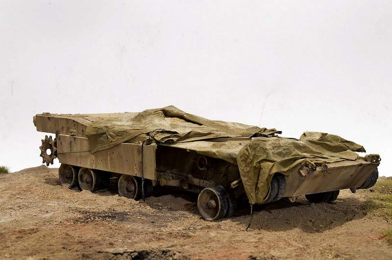 М1А2 Abrams…  БАШНЮ СНЕСЛО… 01416