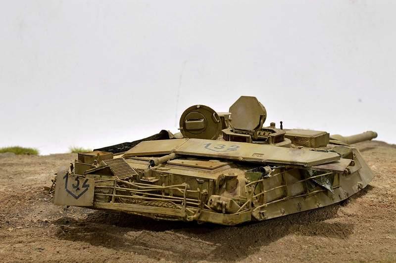 М1А2 Abrams…  БАШНЮ СНЕСЛО… 01516