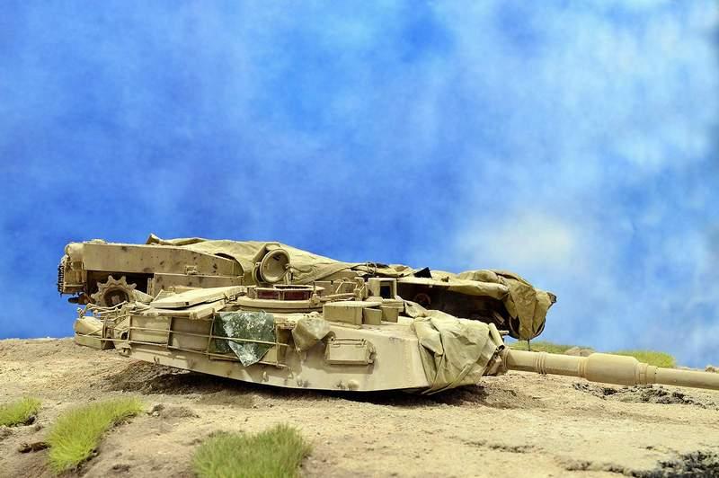 М1А2 Abrams…  БАШНЮ СНЕСЛО… 01611
