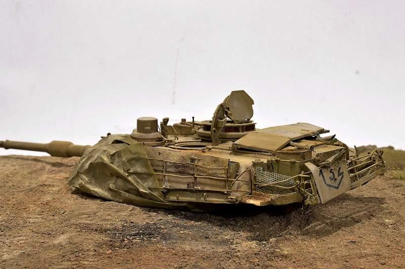 М1А2 Abrams…  БАШНЮ СНЕСЛО… 01715