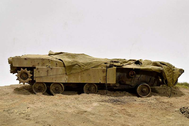 М1А2 Abrams…  БАШНЮ СНЕСЛО… 01815