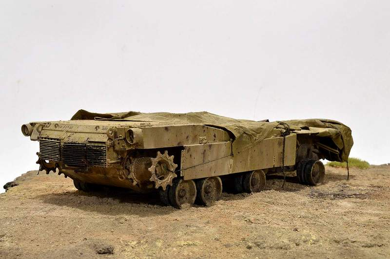 М1А2 Abrams…  БАШНЮ СНЕСЛО… 01915