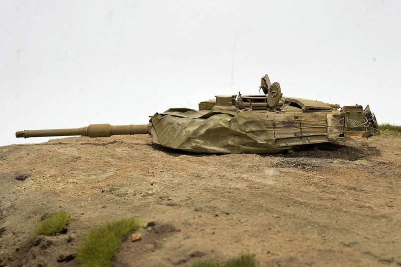 М1А2 Abrams…  БАШНЮ СНЕСЛО… 02012