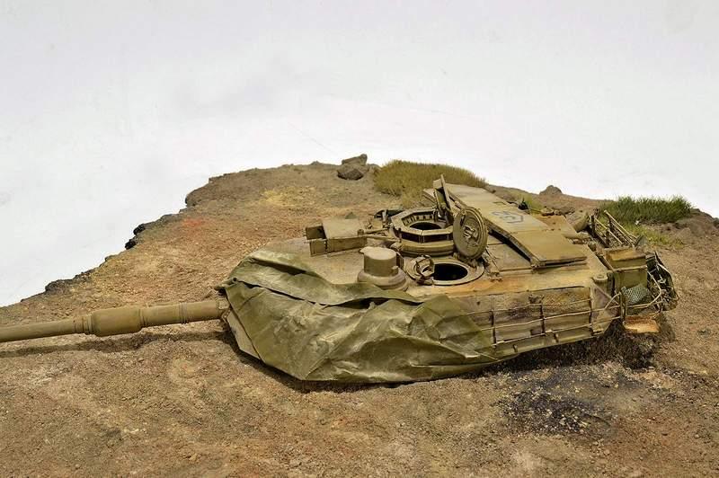 М1А2 Abrams…  БАШНЮ СНЕСЛО… 02115