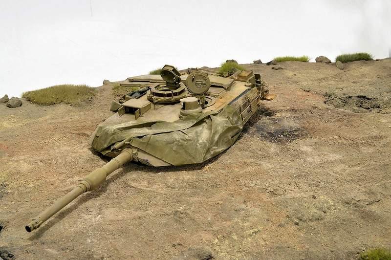 М1А2 Abrams…  БАШНЮ СНЕСЛО… 02214