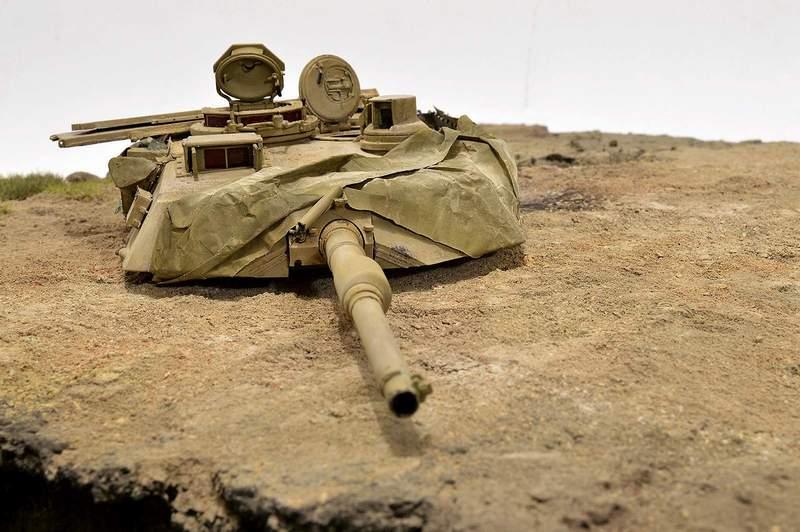 М1А2 Abrams…  БАШНЮ СНЕСЛО… 02313