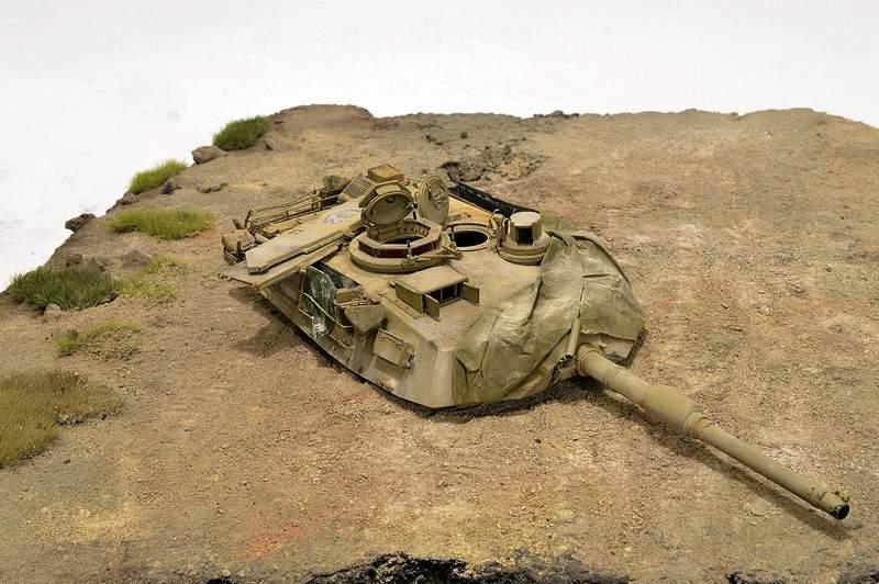 М1А2 Abrams…  БАШНЮ СНЕСЛО… 02410