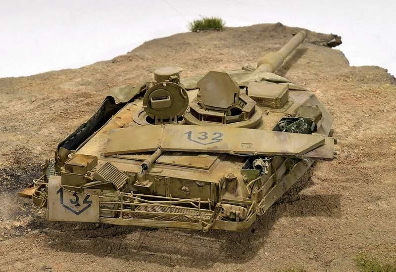 М1А2 Abrams…  БАШНЮ СНЕСЛО… 02513