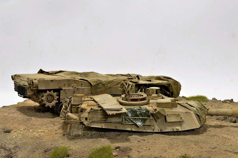 М1А2 Abrams…  БАШНЮ СНЕСЛО… 02710
