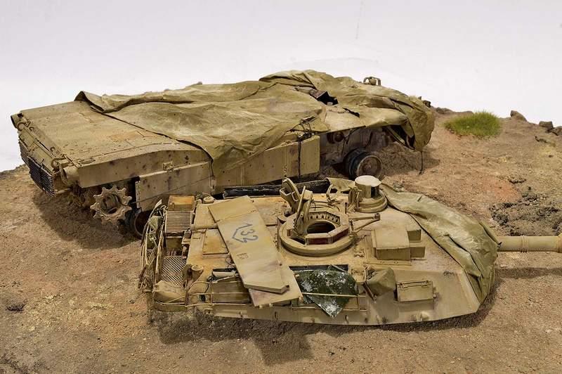 М1А2 Abrams…  БАШНЮ СНЕСЛО… 02810