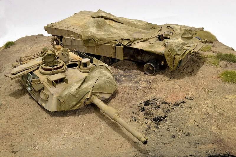 М1А2 Abrams…  БАШНЮ СНЕСЛО… 02910