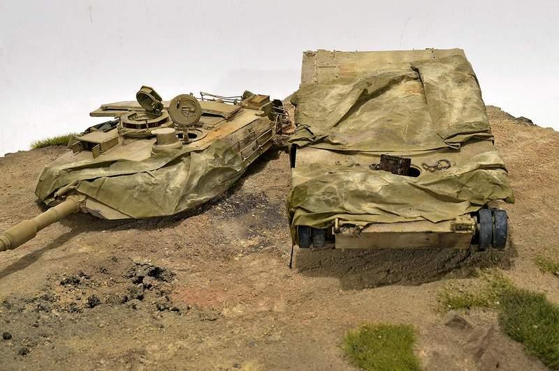 М1А2 Abrams…  БАШНЮ СНЕСЛО… 03010