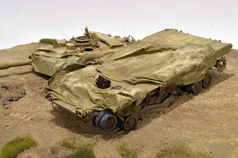 М1А2 Abrams…  БАШНЮ СНЕСЛО… 03110