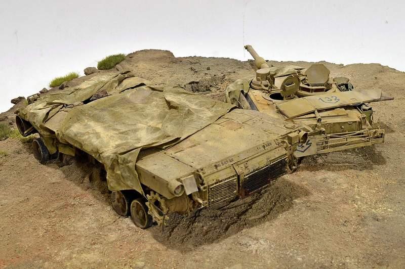 М1А2 Abrams…  БАШНЮ СНЕСЛО… 03210
