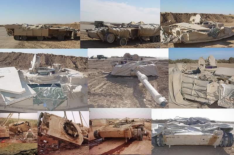 М1А2 Abrams…  БАШНЮ СНЕСЛО… 03410