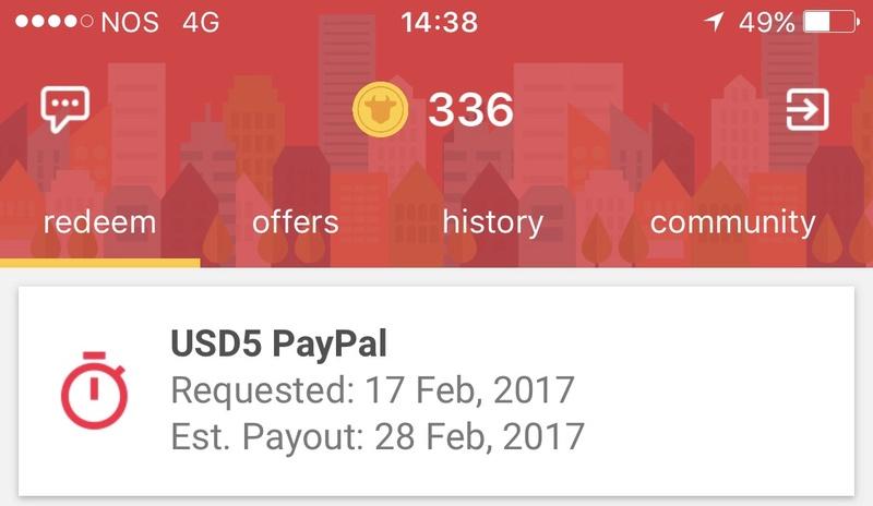 [Provado] MooCash - Ganhe dinheiro com esta app (Android e iOS) usando VPN  Img_4810