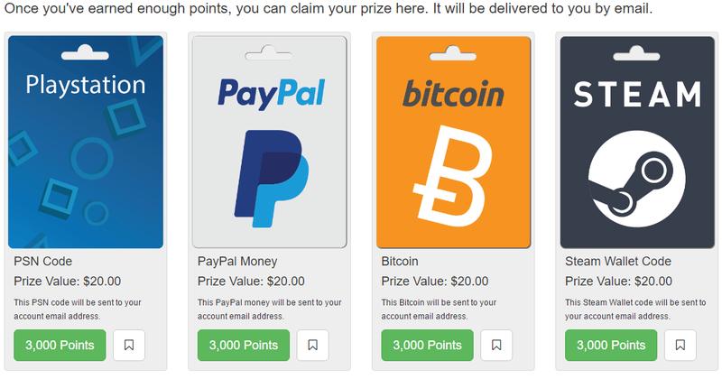 [Testar] PointsPrizes - Ganha $20! Sem_ty10