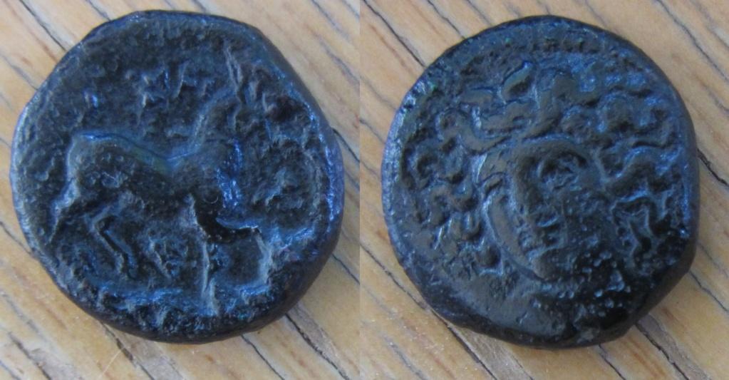 Tetracalco de Lárisa, Tesalia. Bronce17